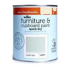 furniture paintWilko Furniture and Cupboard Paint English Sage 750ml at wilkocom