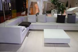 white outdoor furniture. Modern White Outdoor Furniture Spruce Up Your Backyard With