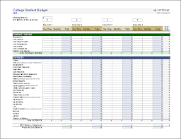 Excel Templates For Budgeting 20 Budget Templates For Excel Vertex42 Com