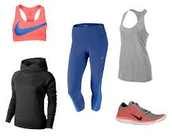 nike outfits. cute workout clothes | nike outfits pro core bra; dri-fit