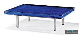 modern spot lighting. Table Bleue - Contemporary Art As Modern Luxury Furniture Spotlighting The Yves Klein Of Spot Lighting