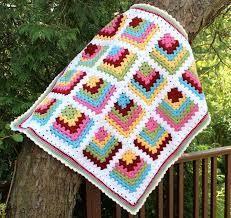 Mitered Granny Square Baby Blanket | Big A, Little A & ... crochet baby blanket, granny square. I ... Adamdwight.com