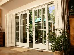 nice french sliding patio doors