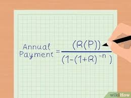 Calculate Loan Payment Formula 2 Easy Ways To Calculate An Annual Payment On A Loan