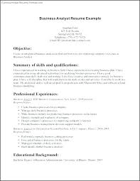 Entry Level Resumes Templates Impressive Examples Of Business Analyst Resumes Business Analyst Employment