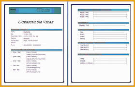 Cv Templates Word 2007 Free Awesome Resume Templates Microsoft Word Of Creative