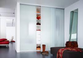 refreshing glass closet doors frosted glass panel closet doors
