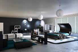 modern bedroom with bathroom. Modern Bedroom~Modern Bedroom And Bathroom With N