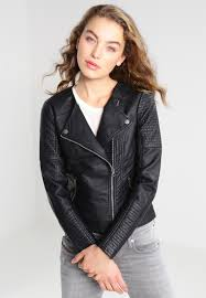 only onlcarly faux leather jacket black women clothing jackets apple only accessories uk