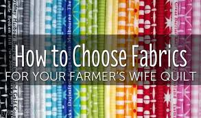 How to Choose Your Farmer's Wife Sampler Quilt Fabrics &  Adamdwight.com