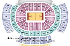 Philips Arena Concert Seating Chart With Seat Numbers Lovely