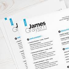 Modern Resume Sheet 117 Best Free Creative Resume Psd Templates 2019 Updated