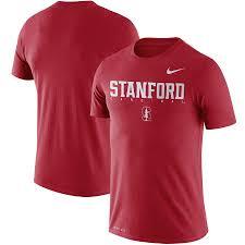 Men's Nike Cardinal Stanford Cardinal <b>2018</b> Facility Dri-FIT <b>Cotton T</b> ...