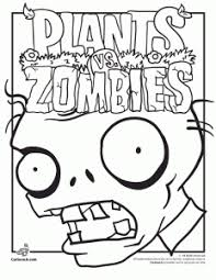 You could also print the image using the print button above the image. Plants Vs Zombies Coloring Pages Woo Jr Kids Activities