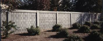 Small Picture Precast Concrete Fences