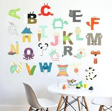 alphabet decals 5 gallery how to make reusable wall decals custom letter decals for cars