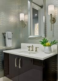 Contemporary Wallpaper Bathroom ...