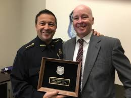 Recently retired Officer O'Shea honored – New Bedford Police Department