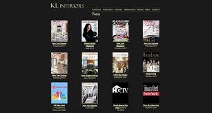 NYC Interior Designer Heads East For A New Website Design - Home design website
