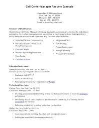 Call Center Representative Resume New Resume For Call Center Call Center Trainer Resume Sample Sample