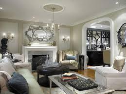 Living Room Colour Living Room White Pendant Lights Gray Rug Gray Sofa White Futons