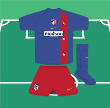 Atletico madrid beat sd huesca at the wanda metropolitano and continue as leaders of laliga santander. Jack Henderson Auf Twitter Home A Revival Of The Brace Design Worn In 2005 06 And Again In 2007 08 But With The Colours Reversed For A Change From Their Usual Predominantly Red Shirts