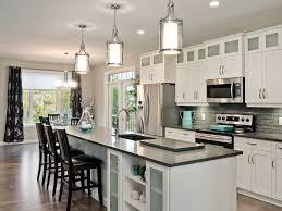 transitional kitchen lighting. Gorgeous Transitional Island Lighting Dvi Kitchen With Additional Red Dining Chair Theme P