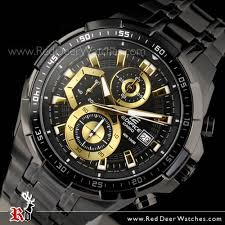 buy casio edifice black gold ion plated mens watches efr 539bk 1av casio edifice black gold ion plated mens watches efr 539bk 1av efr539bk