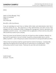 Cover Letter For Medical Office Inspiration Sample Medical Cover Letter What Goes On A Cover Letter For Resume 48