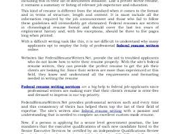 Certified Federal Resume Writing Service Download By Sizehandphone Unique How To Write A Federal Resume