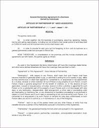 Partnership Agreement Template Free Download Sample Partnership Contracts Beautiful Partnership Contracts 8
