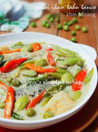 Jun 12, 2021 · resep ikan kembung bumbu tauco. Gulai Tauco Ikan Khas Minang Monic S Simply Kitchen