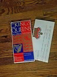 British Royal Family Tree Genealogy Chart King Queens Of