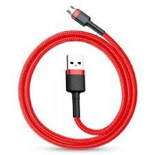 <b>Кабель Baseus Cafule</b> Micro USB Cable (CAMKLF) 1м Red ...