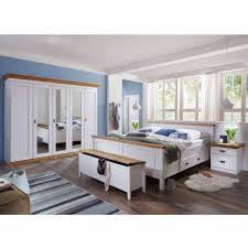 Landhaus Schlafzimmer Sanctos In Weiß Kiefer Pharao24de