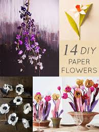 designsponge diy paper flowers this past weekend was like one giant smile i slept in for the first time in i don t know how long and the weather finally