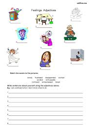 Best Ideas Of Using Adjectives Worksheets With Additional Resume