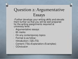 introduction to muet for lower orientation week  8 question 2 argumentative essays