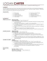 Inside Sales Resume Retail Sales Resume Retail Sales Associate ...