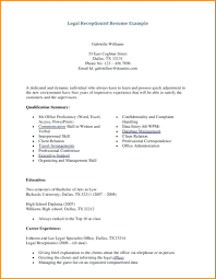 Medical Secretary Resume Examples resume Sample Resume For Secretary 27
