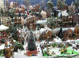 Christmas Tree Village Display Stands Building Display Stands Christmas Village Displays 42