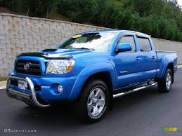2007 Speedway Blue Pearl Toyota Tacoma V6 TRD Sport Double Cab 4x4 ...