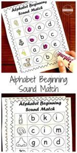 Click on any of the items below to download. Free Phonics Beginning Sounds Do A Dot Worksheets