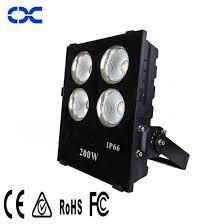 100w 150w 200w 300w cob ip66 high power outdoor lighting led flood light
