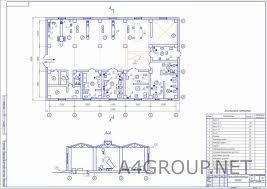 Проект АТП > Платные чертежи Чертежи Автомобили Производственный корпус АТП
