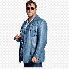 inspector javert desktop wallpaper sticker leather jacket jacket gladiator nice guys blue denim sleeve textile outerwear material