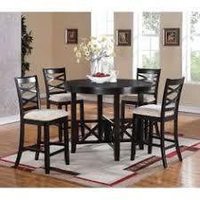 5pc 12540counter standard furniture 5 piece counter height dining set counter height dining