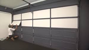 superb garage door noise reduction thermadoor insulation insulate your opener