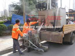 thermoplastic road line painting equipment