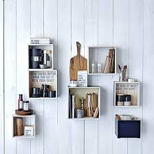 wall boxes for display display tableware in box shelves
